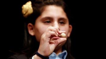 Nerea Pareja Martínez, la niña de la Lotería de Navidad