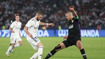 Momento del partido entre el Real Madrid y el Al Ain