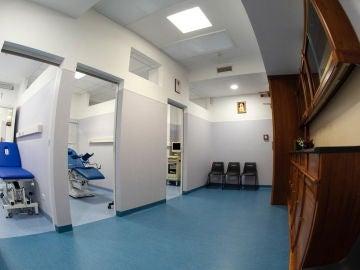 Panorámica, Centro de Salud Madre Misericordia en el Vaticano