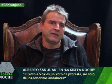 """Alberto San Juan: """"La principal característica de VOX no es ser de ultraderecha, sino defender el sistema neoliberal"""""""