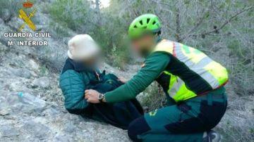 Rescate en Alicante de una anciana de 90 años