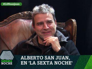 """Alberto San Juan: """"Suena perverso pero el personaje que más he disfrutado es Francisco Franco"""""""