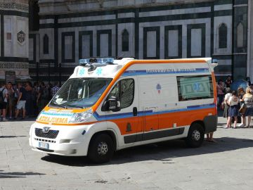 Imagen de archivo de una ambulancia en Italia