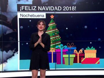 Joanna Ivars informa del tiempo en Nochebuena y Navidad