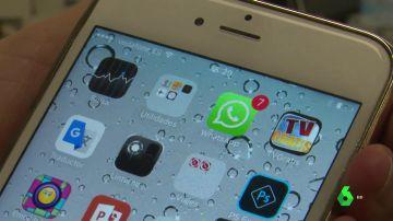Imagen de archivo de un teléfono