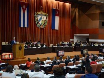 El presidente cubano, Miguel Díaz-Canel