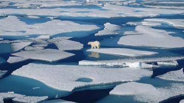 El deshielo en el Ártico Polar