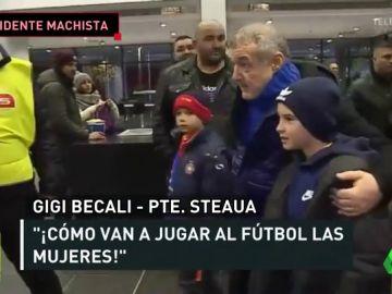 """Lamentables palabras machistas del presidente del Steaua: """"El fútbol femenino se alinea con las ideas de Satanás"""""""
