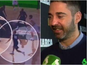 Juan Carlos Navarro y la jugada que Curry le copió