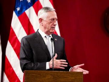 Jim Mattis, el secretario de Defensa de EEUU