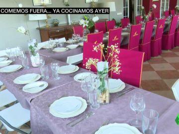 Comer fuera de casa el 25 de diciembre, una moda que se va convirtiendo en tradición en toda España