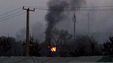 Ataque suicida en Kabul, Afganistan