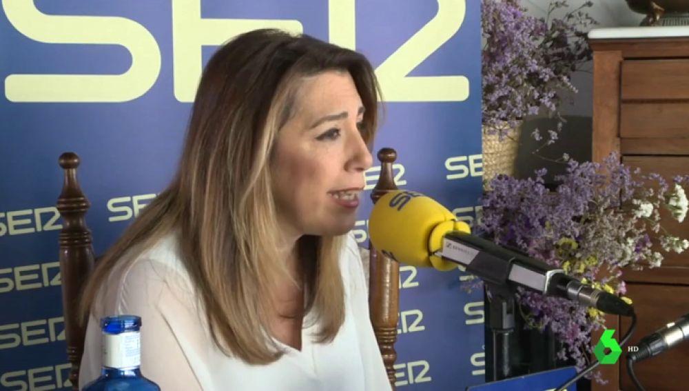 """Susana Díaz se desmarca de Sánchez y abre la puerta al 155: """"En Cataluña llevan tiempo incumpliendo la ley"""""""