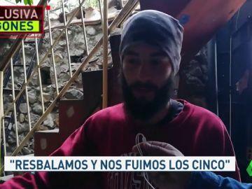 Hablamos con el único superviviente del alud en Perú