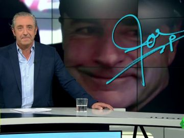 """Josep Pedrerol: """"""""Mucha suerte en el Dakar. Ah, Y trata de ganarlo, Carlos"""""""