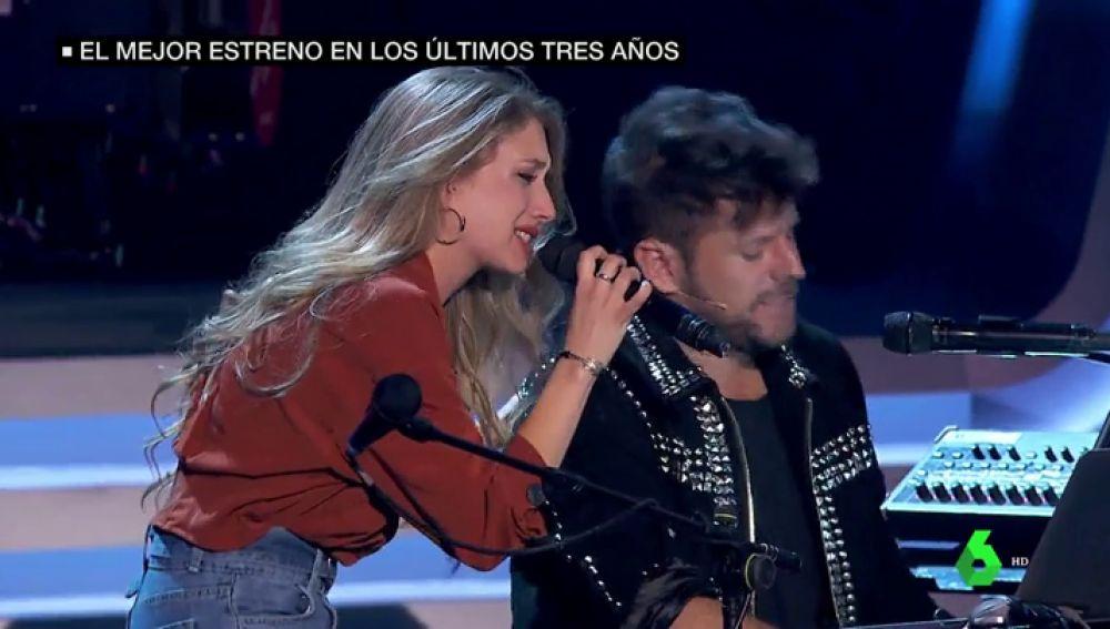 'La Voz' llega a Antena 3 como el estreno más visto de un programa en más de tres años: así fue la primera gala