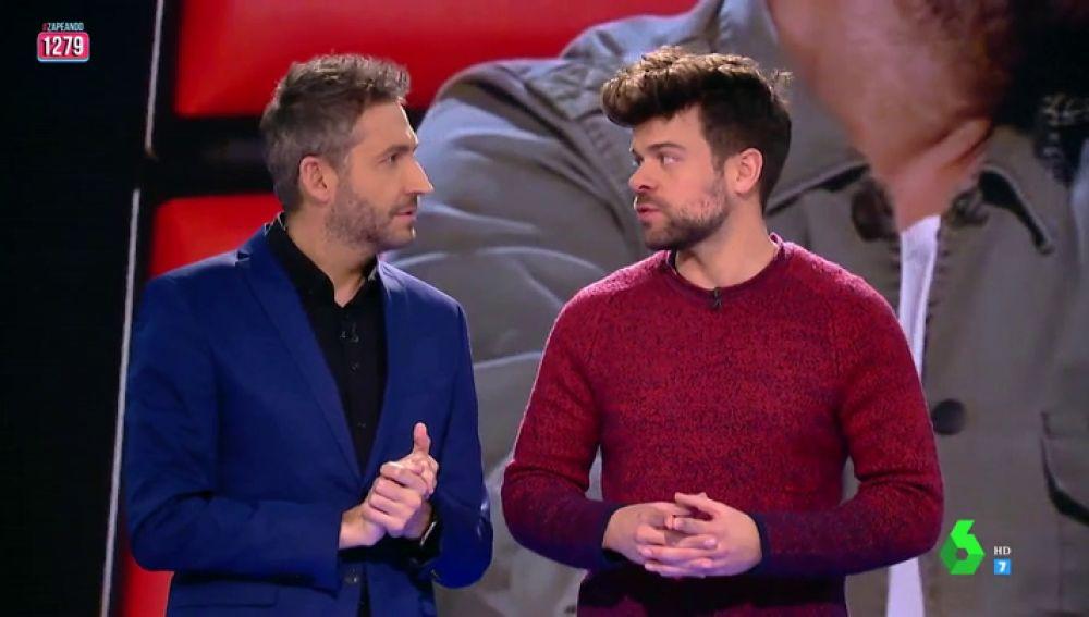 """Ricky vuelve a Zapeando para comentar el primer programa de La Voz: """"Me pareció espectacular, me quedé con ganas de más"""""""