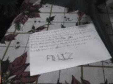 La carta hallada junto al cuerpo sin vida de la menor