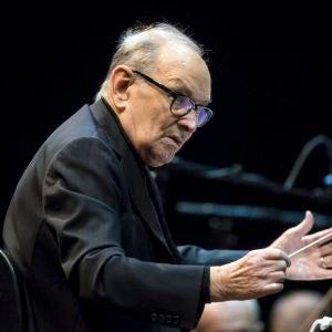 El compositor italiano Ennio Morricone