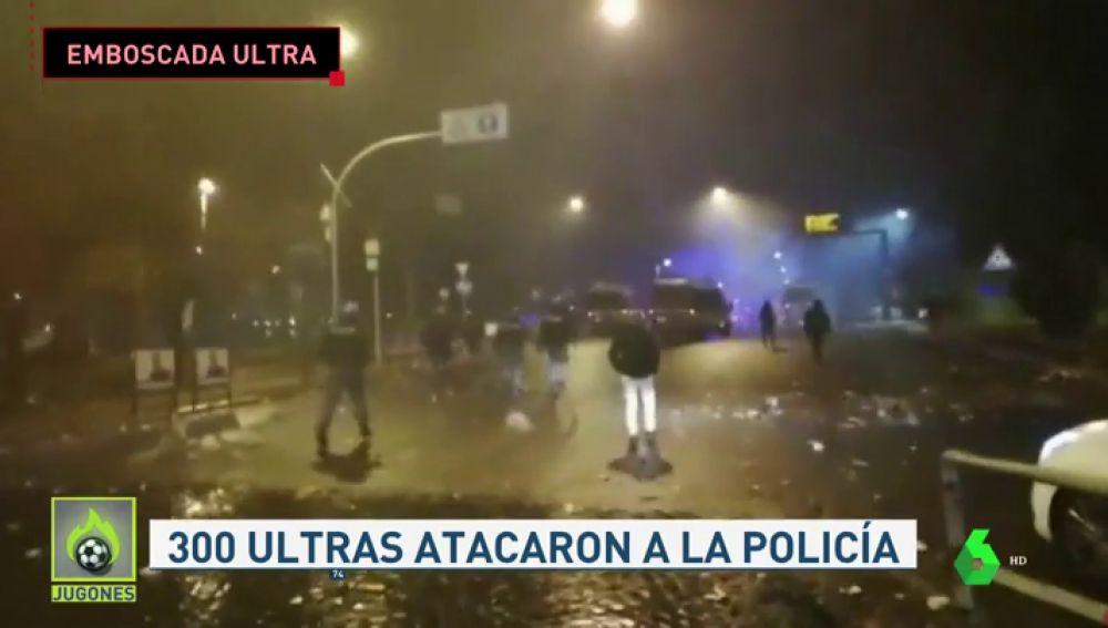 Cerca de 300 ultras de la Lazio siembran el terror en la fiesta del aniversario del club