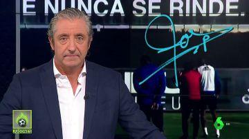 """Josep Pedrerol: """"Marcelino, la afición del Valencia merece por lo menos la autocrítica de su entrenador. De su todavía entrenador"""""""