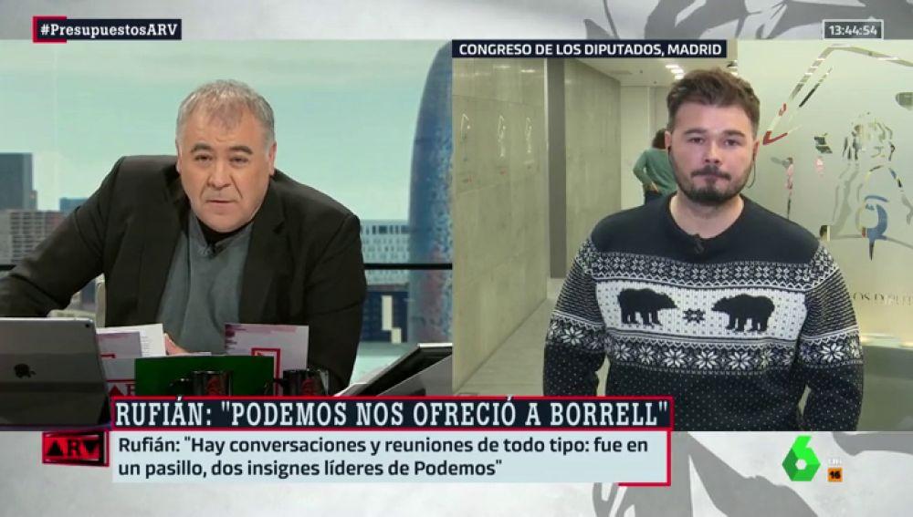 Antonio García Ferreras y Gabriel Rufián