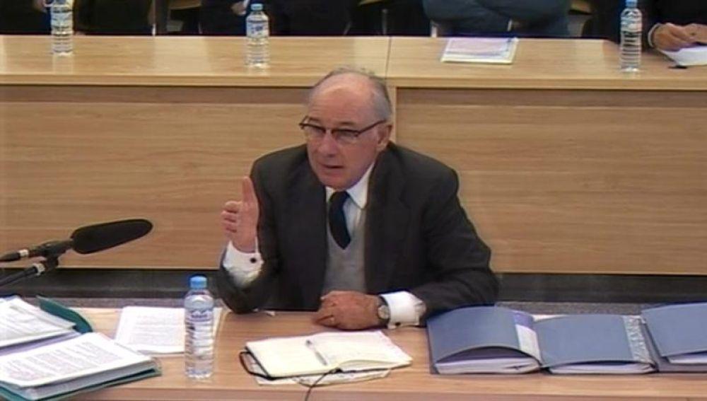 Rodrigo Rato, ante la sección cuarta de la sala de lo Penal