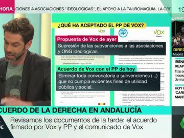 Te explicamos qué ha aceptado realmente el PP de Vox en su acuerdo para Andalucía
