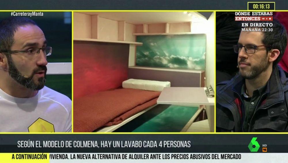 """Marc Olivé, promotor de pisos colmena: """"Nos consideramos la quimioterapia del problema de la habitabilidad"""""""