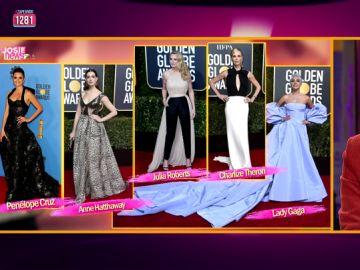 ¿Penélope Cruz, Anne Hathaway, Julia Roberts o Lady Gaga?: Josie se 'moja' con los looks de los Golden Globe Awards