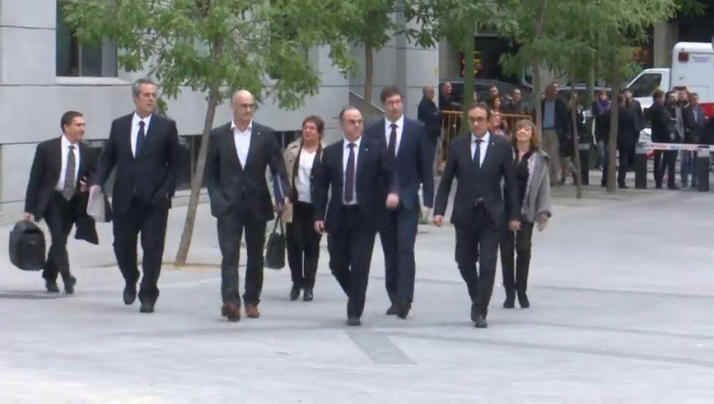 El Tribunal Supremo pide a Interior que traslade a los presos del procés antes de febrero