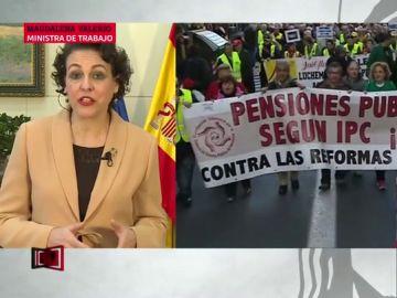 """Magdalena Valerio: """"Garantizamos una revalorización de las pensiones según el IPC real por ley"""""""