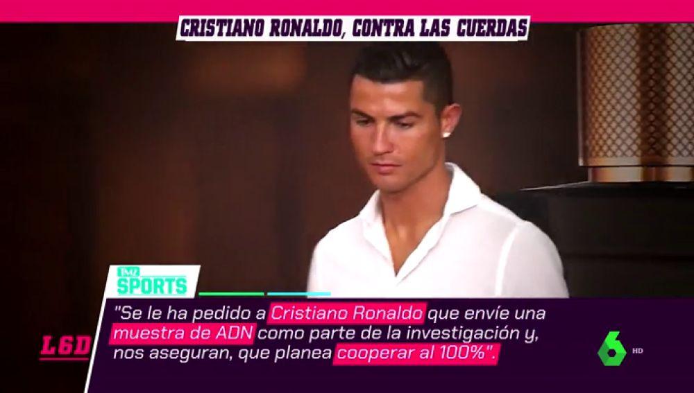 La Policía de las Vegas solicita una orden judicial para obtener el ADN de Cristiano Ronaldo