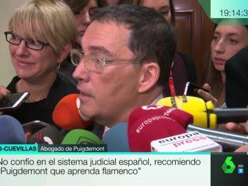 El abogado de Carles Puigdemont