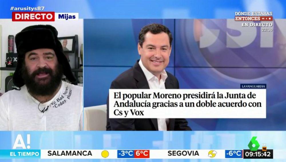 El Sevilla y Juanma Moreno