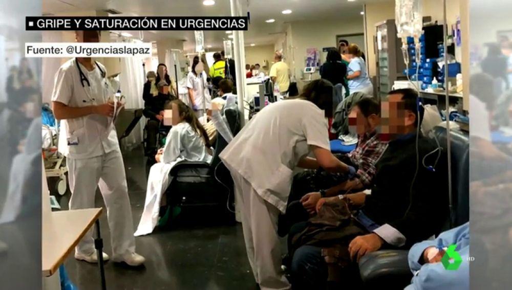 Las Urgencias colapsadas por la gripe