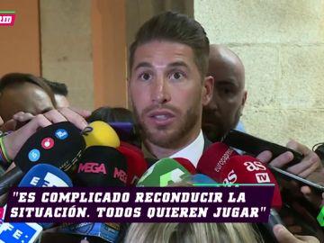 """Sergio Ramos, sobre la suplencia de Isco: """"Es complicado, todos quieren jugar"""""""