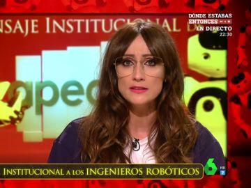 """El mensaje institucional de Zapeando a los ingenieros: """"Se han gastado millones para que un coche inteligente atropelle a un robot"""""""