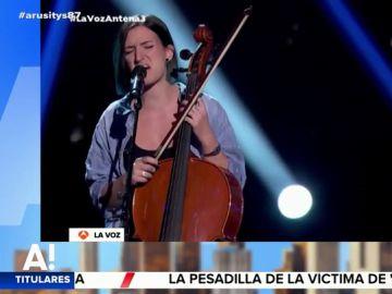 La actuación de Keila en La Voz