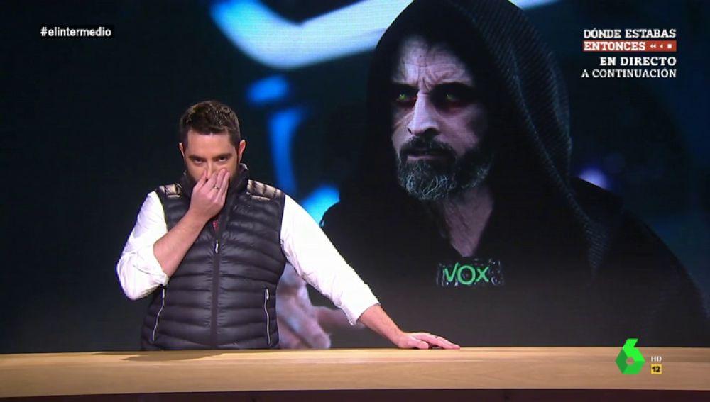 """De ser """"un pardillo"""" a convertirse en """"un Jedi que ha acabado pactando con el lado oscuro"""": el análisis de Dani Mateo sobre Juanma Moreno"""