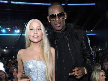 La cantante Lady Gaga y el rapero R. Kelly