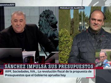 """José Carlos Díez: """"Es muy grave lo de Cataluña, un estado no puede condicionar la inversión pública al peso de una región concreta"""""""