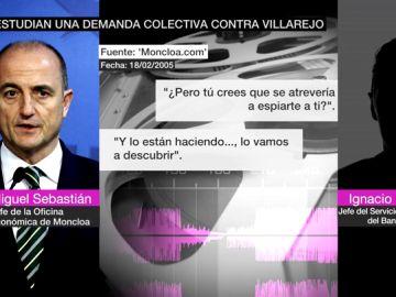 Conversaciones de Miguel Sebastián con Ignacio Rupérez