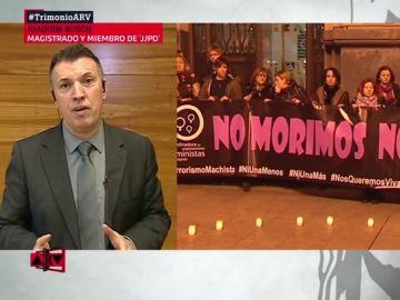 """El juez Joaquim Bosch desmonta los argumentos de Vox sobre la violencia de género: """"Las denuncias falsas no llegan ni al 0,1%"""""""