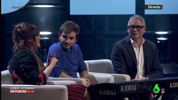 """La conversación entre Rozalén, Boris Izaguirre y Jaime Altozano en Dónde estabas entonces: """"Los 80 están muy valorados pero los 90 hubo cremita fina"""""""