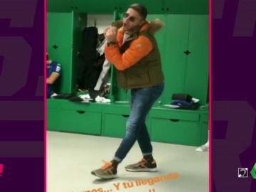 Lo ha vuelto a hacer: bailecito 'made in Joaquín' para dar la bienvenida al fin de semana