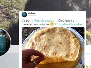Imagen de un tuit en respuesta a las declaraciones de Casado sobre la educación en Asturias