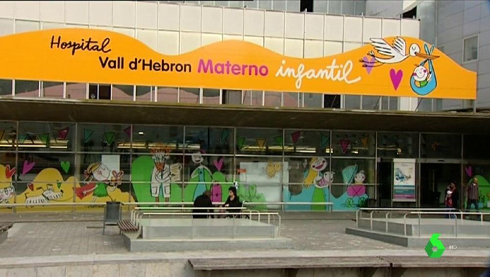 Imagen de la fachada de la zona infantil del Hospital Vall d'Hebron de Barcelona