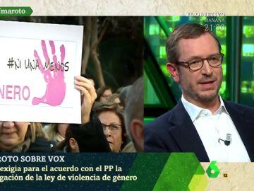 """Javier Maroto: """"La ley contra la violencia de género es necesaria. El PP no cambiará su criterio"""""""