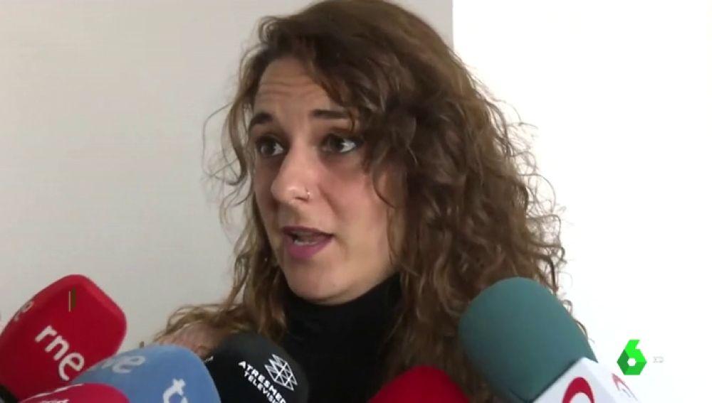 Noelia Vara, portavoz de la ejecutiva de Podemos
